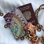Канцелярские товары handmade. Livemaster - original item Passport cover, passport holder, passport wallet, personalised passpor. Handmade.