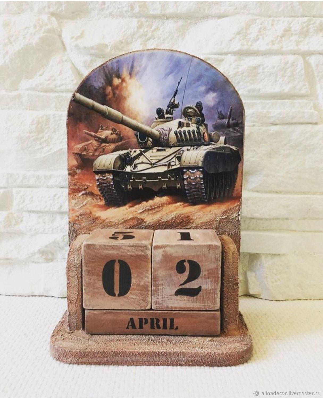 Perpetual calendar 'World of Tanks», Calendars, Ramenskoye,  Фото №1