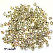 Материалы для творчества handmade. Livemaster - original item 20 PCs 3 mm X40020 Fire Polished Czech beads. Handmade.