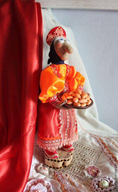 Сказочные персонажи ручной работы. Ярмарка Мастеров - ручная работа. Купить Баба Яга, кукла сувенирная.. Handmade. Баба яга