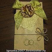 Подарки к праздникам ручной работы. Ярмарка Мастеров - ручная работа Коробочка для денег. Handmade.