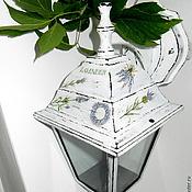 Для дома и интерьера ручной работы. Ярмарка Мастеров - ручная работа Садовый фонарь в стиле прованс. Handmade.