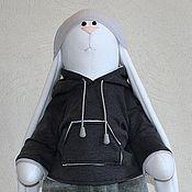 Куклы и игрушки ручной работы. Ярмарка Мастеров - ручная работа Заяц «Антоха»  ( рост 70 см ). Handmade.