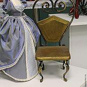 Куклы и игрушки ручной работы. Ярмарка Мастеров - ручная работа Кованый  кукольный  стул. Handmade.