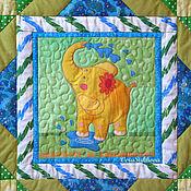 """Для дома и интерьера ручной работы. Ярмарка Мастеров - ручная работа Детское лоскутное одеяло """"Мамин любимчик"""". Handmade."""
