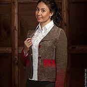 """Одежда ручной работы. Ярмарка Мастеров - ручная работа Жакет """"Шотландский твид"""". Handmade."""