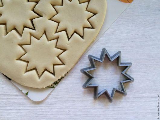 Кухня ручной работы. Ярмарка Мастеров - ручная работа. Купить Форма для печенья Звездочка. Handmade. Разноцветный, формочка для печенья