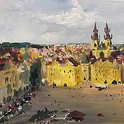 Картины ручной работы. Ярмарка Мастеров - ручная работа Старая Прага. Handmade.