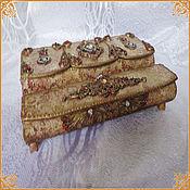 "Для дома и интерьера handmade. Livemaster - original item Casket ""Gift"". Handmade."