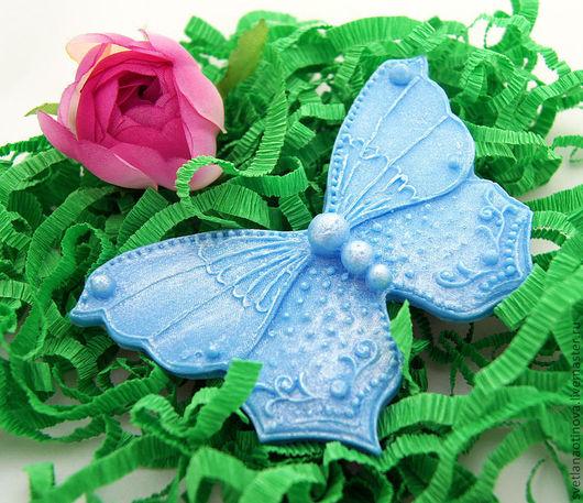 Мыло ручной работы. Ярмарка Мастеров - ручная работа. Купить Бабочка. Handmade. Бабочка, свадьба, бонбоньерка на свадьбу, мыло в подарок