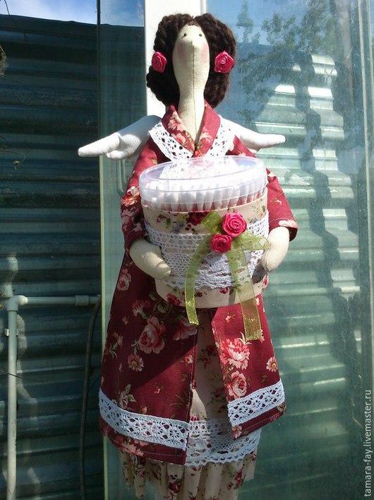 Куклы Тильды ручной работы. Ярмарка Мастеров - ручная работа. Купить Банная фея. Handmade. Банная фея, кукла в подарок