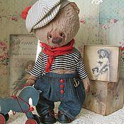 Куклы и игрушки ручной работы. Ярмарка Мастеров - ручная работа Мишка Томас. Handmade.