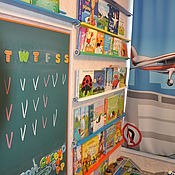 Для дома и интерьера handmade. Livemaster - original item shelf for books. Handmade.