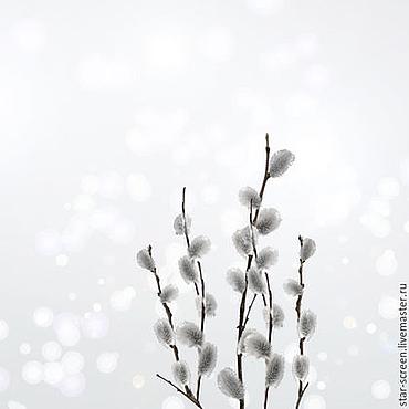 Картины и панно ручной работы. Ярмарка Мастеров - ручная работа Верба. Фото картина Начало. Handmade.