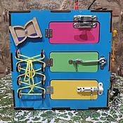Бизиборды ручной работы. Ярмарка Мастеров - ручная работа Бизикуб. Handmade.