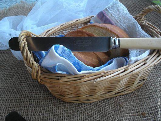 Винтажная посуда. Ярмарка Мастеров - ручная работа. Купить Бронь Столовый нож, 30-40-е годы, Шеффилд. Handmade.