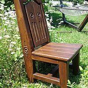 Для дома и интерьера ручной работы. Ярмарка Мастеров - ручная работа Стул деревянный. Handmade.