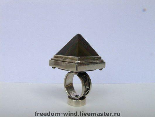 Кольца ручной работы. Ярмарка Мастеров - ручная работа. Купить Пирамида. Handmade. Кольца, символизм, тёмно-зелёный