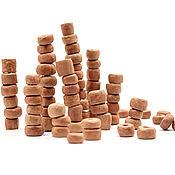handmade. Livemaster - original item Terra ceramic round bead set 68 PCs. Handmade.