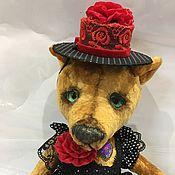 Куклы и игрушки ручной работы. Ярмарка Мастеров - ручная работа Медвежонок  Кармен. Handmade.