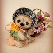 Куклы и игрушки ручной работы. Ярмарка Мастеров - ручная работа Ежик Масечка. Handmade.