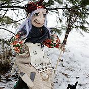 Куклы и игрушки ручной работы. Ярмарка Мастеров - ручная работа кукла Баба Яга.. Handmade.