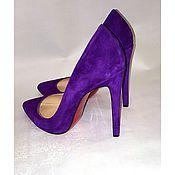 Обувь ручной работы handmade. Livemaster - original item Shoes Indigo. Handmade.