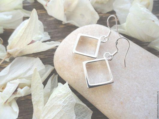 серьги ромбики стильные лаконичные простые серебро серьги ромбики стильные лаконичные простые серебро серьги ромбики стильные лаконичные простые серебро серьги ромбики стильные лаконичные простые