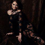Одежда ручной работы. Ярмарка Мастеров - ручная работа Будуарное платье. Handmade.