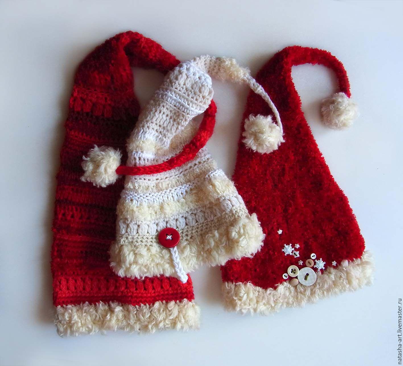 Вязание колпак для малышей 13