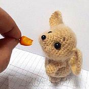 Схемы для вязания ручной работы. Ярмарка Мастеров - ручная работа Мышка-малышка.МК по созданию игрушки.. Handmade.