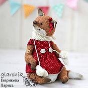 Куклы и игрушки ручной работы. Ярмарка Мастеров - ручная работа Лисичка Амей. Handmade.