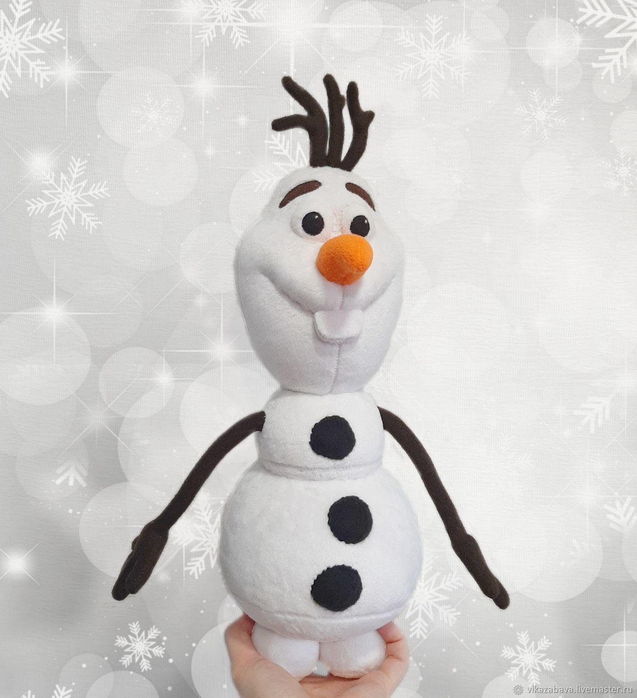 "Снеговик Олаф (м/ф ""Холодное сердце""), Мягкие игрушки, Владивосток,  Фото №1"