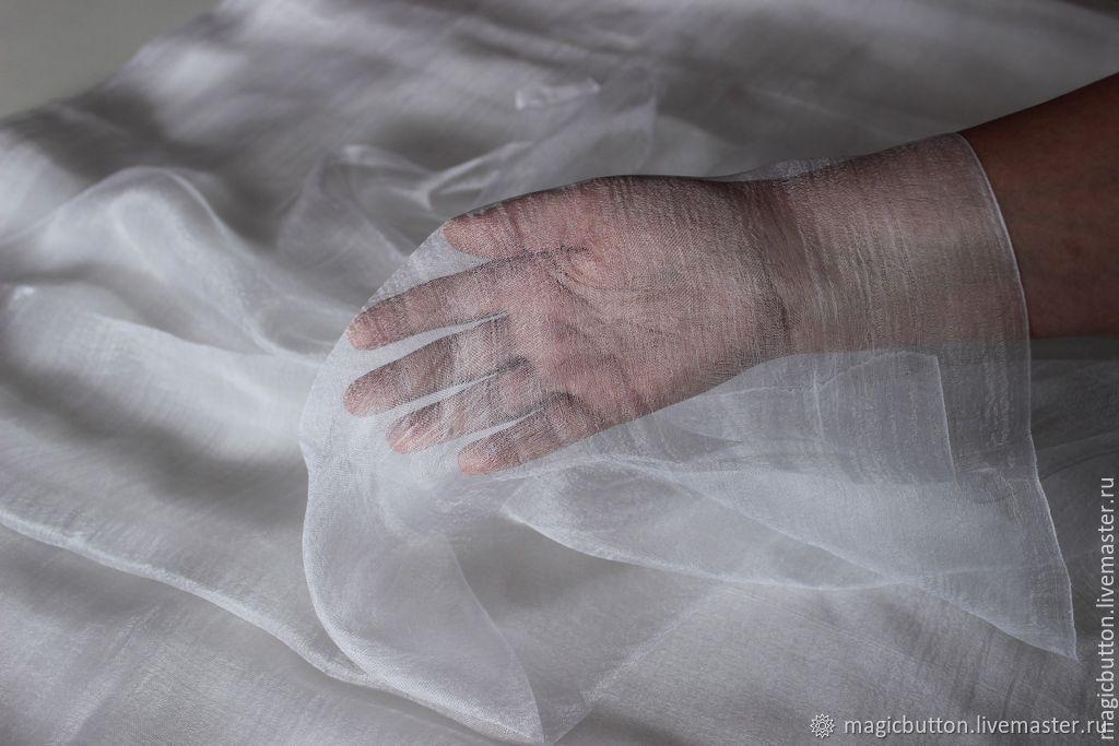 Разреженный маргиланский шёлк, ширина 115 см, Материалы для валяния, Павлодар,  Фото №1