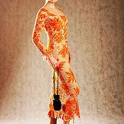 """Одежда ручной работы. Ярмарка Мастеров - ручная работа Платье """"Золотая осень"""", """"ирландское кружево"""". Handmade."""