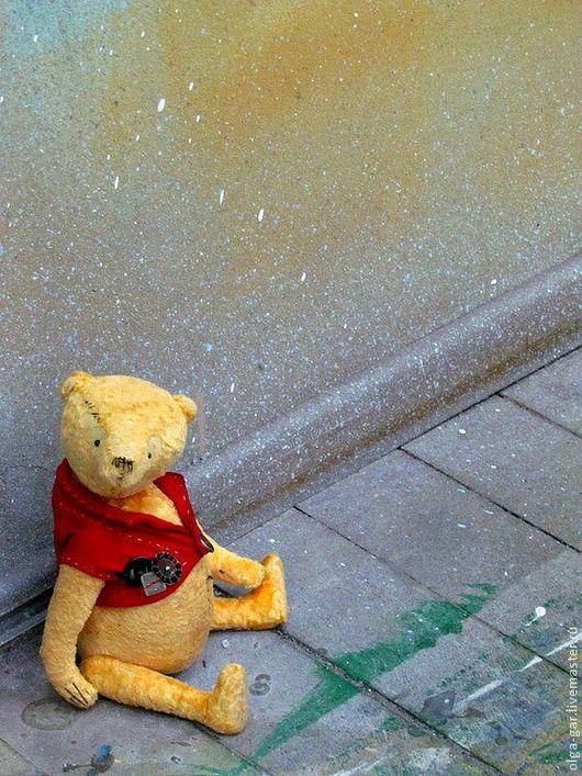Мишки Тедди ручной работы. Ярмарка Мастеров - ручная работа. Купить Мой плюшевый мишка. Handmade. Золотой, Плюшевый мишка
