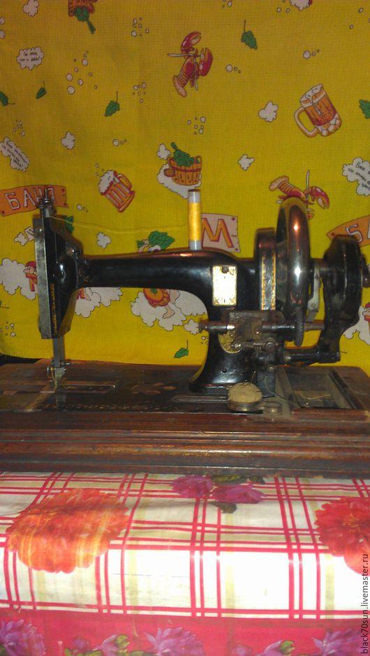 Винтажные предметы интерьера. Ярмарка Мастеров - ручная работа. Купить Швейная машинка старинная. Handmade. Черный, антикварное