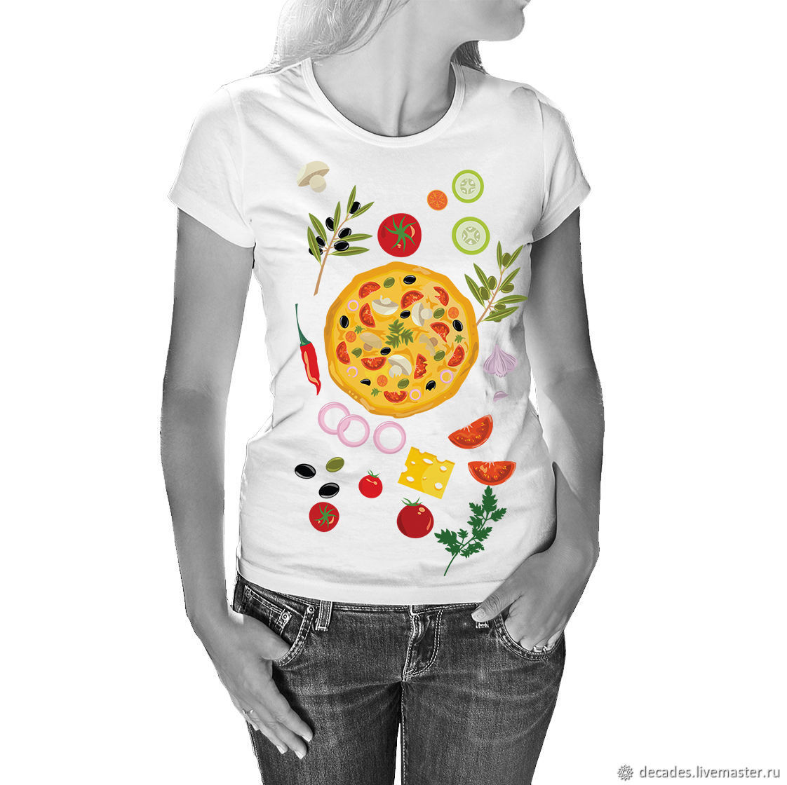 Pizza Party T-Shirt, T-shirts, Moscow,  Фото №1