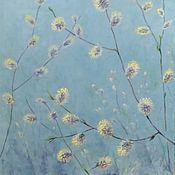 """Картины и панно ручной работы. Ярмарка Мастеров - ручная работа Картина """"Весеннее цветение """". Handmade."""