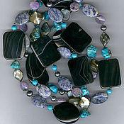 Украшения handmade. Livemaster - original item long necklace made of natural stones. Handmade.