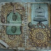 """Открытки ручной работы. Ярмарка Мастеров - ручная работа Тематическая открытка """"Попугай"""". Handmade."""