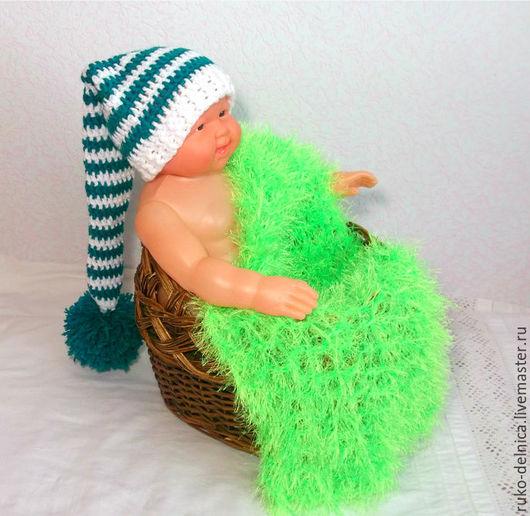 Для новорожденных, ручной работы. Ярмарка Мастеров - ручная работа. Купить для фотосессии новорожденных колпак (фотосессия шапка реквизит. Handmade.