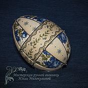 Сувениры и подарки handmade. Livemaster - original item Easter Egg Cornflowers. Handmade.