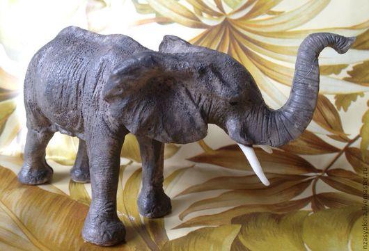 """Мыло ручной работы. Ярмарка Мастеров - ручная работа. Купить Мыло """"Слон"""". Handmade. Серый, эксклюзивный сувенир"""
