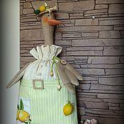 Для дома и интерьера ручной работы. Ярмарка Мастеров - ручная работа ЛИМОНЧЕЛЛО пакетница. Handmade.