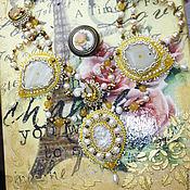 """Украшения ручной работы. Ярмарка Мастеров - ручная работа Колье """"Золотое сияние"""". Handmade."""