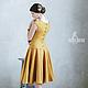 Платья ручной работы. Валяное платье «Cute». Irina Demchenko. Интернет-магазин Ярмарка Мастеров. Валяное платье, прогулка, осень