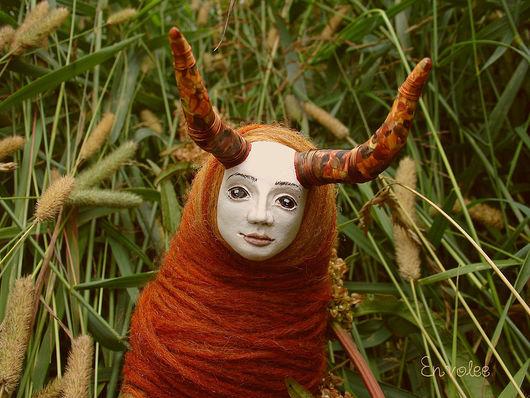 Коллекционные куклы ручной работы. Ярмарка Мастеров - ручная работа. Купить кукла Бодхо. Handmade. Интерьерная кукла, необычный подарок