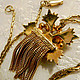 """Винтажные украшения. Винтажное колье от  """"1928 Jewelry Company"""" """" Венецианка"""". Vintage luxury. Ярмарка Мастеров. Стильный подарок, позолота"""