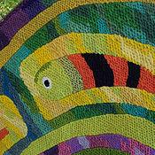 Картины и панно ручной работы. Ярмарка Мастеров - ручная работа Гобелен. Под знаком рыб. Handmade.